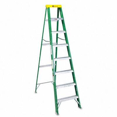 Davidson Ladder, Inc. Louisville #592 Eight-Foot Folding Fiberglass Step Ladder at Sears.com