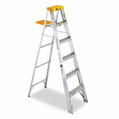 Davidson Ladder, Inc. Louisville #428 Six-Foot Folding Aluminum Step Ladder at Sears.com
