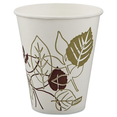 Pathways Polycoated Paper Cold Cup (Pack of 100) DXE12FPPATHPK
