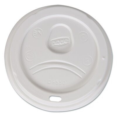 Sip-Through Dome Hot Drink Lid (Pack of 100) DXED9550CT