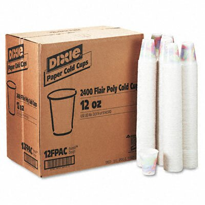(2400 per Carton) 12 oz Cold Drink Cup in Sage DXE12FPSAGECT