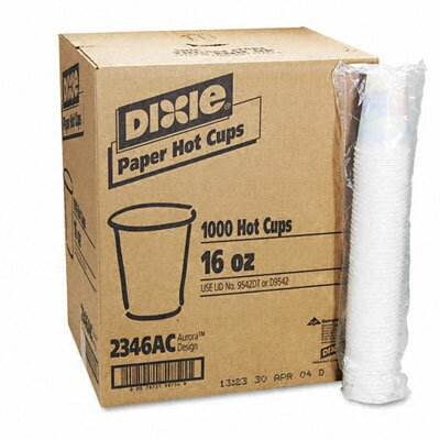 Dixie Sage Collection Hot Drink Cups Size: 16 oz. DXE2346SAGE