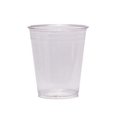 Cold Drink Cups, 10 oz., Clear Plastic (Set of 2) Pack Size: 25 DXECP10DXPK