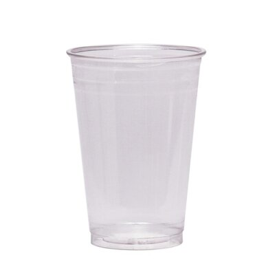 Cold Drink Cups, 12 oz., Clear Plastic DXECP12DXPK