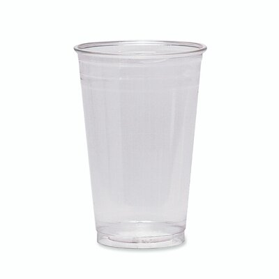 Cold Drink Cups, 16 oz., Clear Plastic DXECP16DXPK