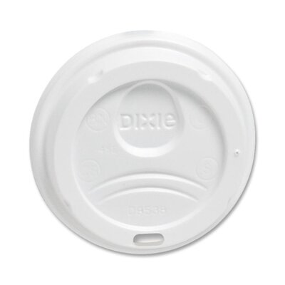 Perfect Touch Dome Plastic  8 Oz. Hot Cup Lid Everyday DXE9538DXPK