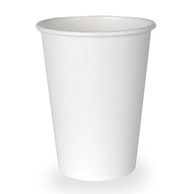 Hot Paper Cup in White DXE2342W