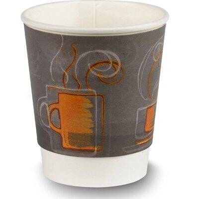 8 oz EcoSmart Hot / Cold Paper Cup AROCOF-01-08-C