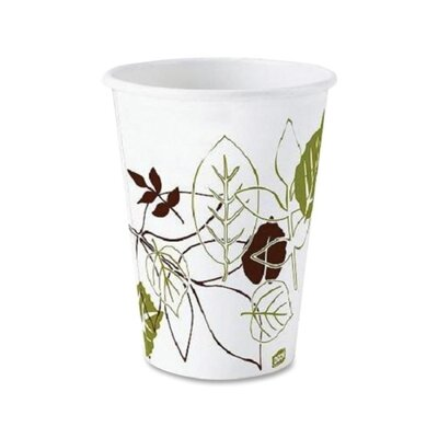 Polylined Hot Cup (50 Count) Capacity: 8 Oz DXE2338SAGE