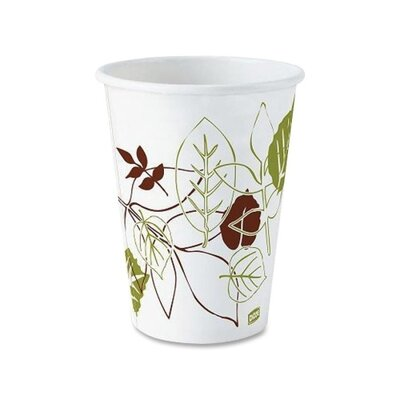 Polylined Hot Cup (50 Count) Capacity: 12 Oz DXE2342SAGE