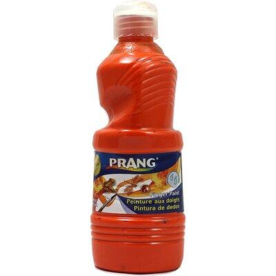 Prang Washable Finger Paint 16 Oz Color: Orange DIX41602