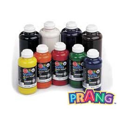 Prang Washable Finger Paint 16 Oz Black DIX41608