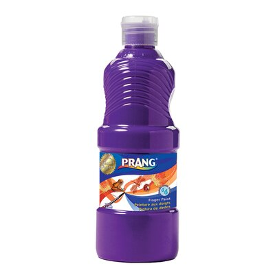 Prang Washable Finger Paint 16 Oz Color: Violet DIX41606
