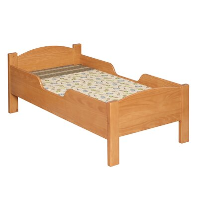 Traditional Toddler Bed Color: Honey Oak