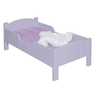 Traditional Toddler Bed Color: Lavender
