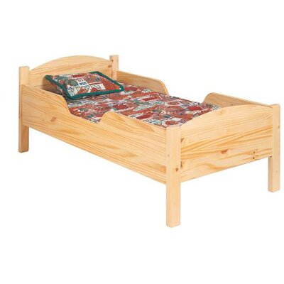 Traditional Toddler Bed Color: Linen