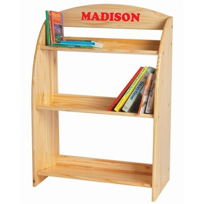 "Kid's 39"" Bookcase Color: Powder Blue MDF +MDF Powder Blue"