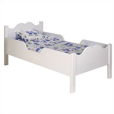 Cheap Scalloped Toddler Bed (OZ1107)
