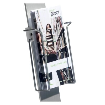Duo Sign Stand, Literature Dispenser, 9x1-3/8x8-3/4, SR