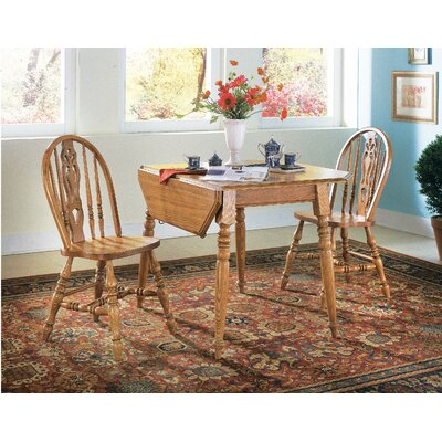 Cheap Cochrane Thresher's Too 3 Piece Dining Set in Distressed Antique Oak (DU1630)
