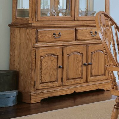 Cheap Cochrane Thresher's Too Small Buffet in Distressed Antique Oak (DU1620)
