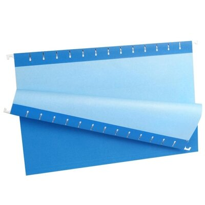 Esselte Hanging File Folders, 1/5 Tab, Legal, 25/Box - Color: Blue at Sears.com