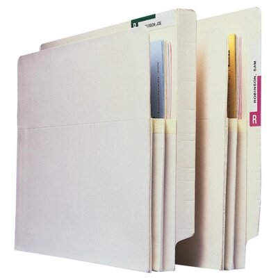 "Esselte Convertible File Pockets, 5-1/4"" Exp, Letter, 10/BX, Manila at Sears.com"