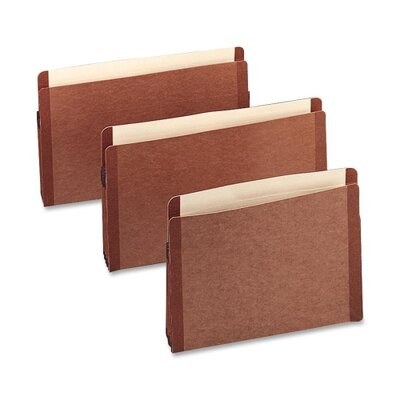 "Esselte Expanding File Pockets,Vertical,1-3/4"" Exp,Letter,10/BX,Red at Sears.com"