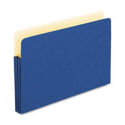 "Esselte Expanding File Pocket, 3-1/2"" Expansion, Legal, Blue - Color: Yellow at Sears.com"