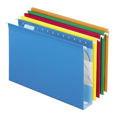 Esselte Hanging Folders, w/Box Bottoms, 25 per Box, Various Colors - Color: Assorted Colors at Sears.com