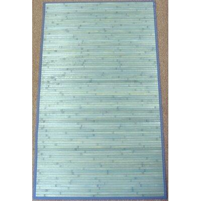 Jade Light Blue Rug Rug Size: 8' x 10'