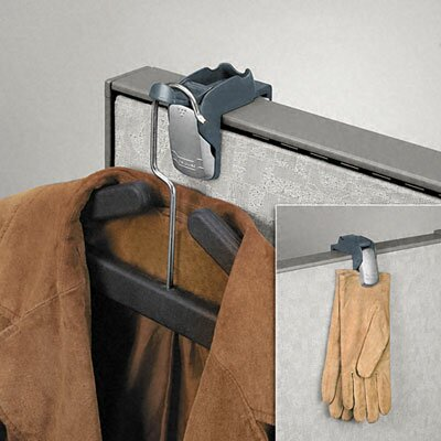 Pro Series Partition Additions Coat Hook and Clip