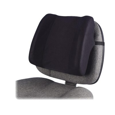 High-Profile Backrest with Soft Brushed Cover Finish: Black