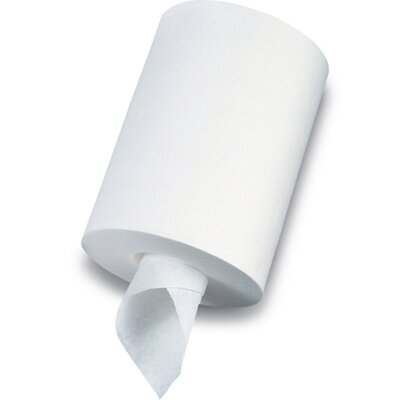 SofPull One-Ply Junior-Capacity Center-Pull Towels in White
