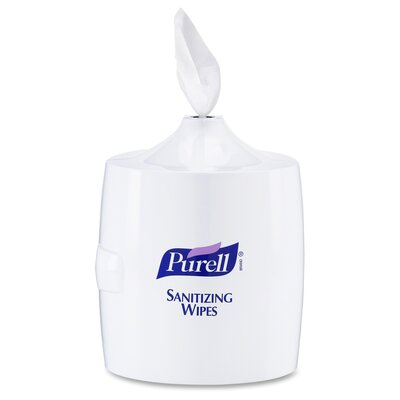 Purell Sanitizing Wipes Wall Mount Paper Towel Dispenser