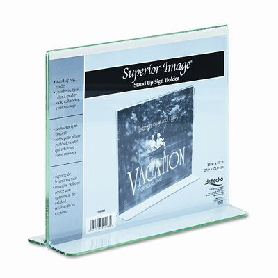 Superior Image Premium Edge Sign Holder