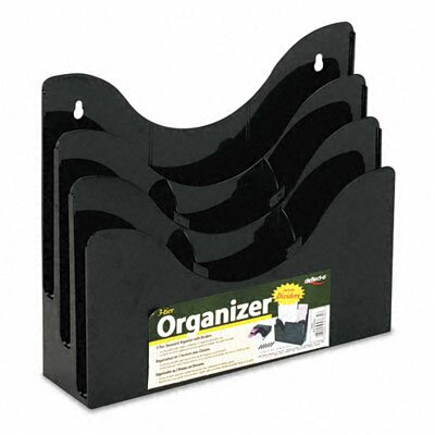 3-Tier Document Organizer with Dividers