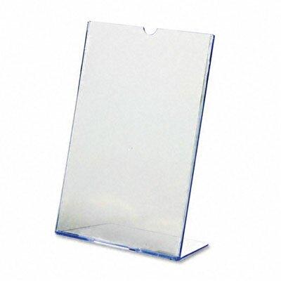 Slanted Desk Sign Holder, 8.5 Wide