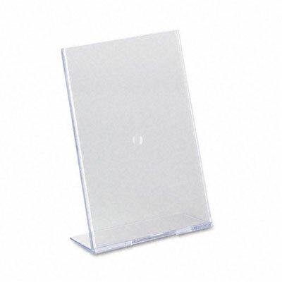 Slanted Desk Sign Holder, 5 Wide