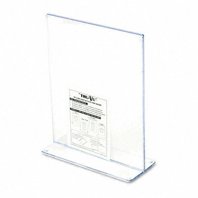 Stand-Up Double-Sided Sign Holder