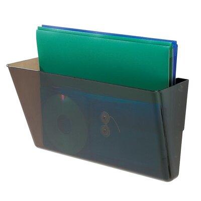 Letter Single Unit Wall Pocket Color: Smoke