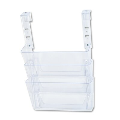 File Partition Set with Brackets Color: Clear