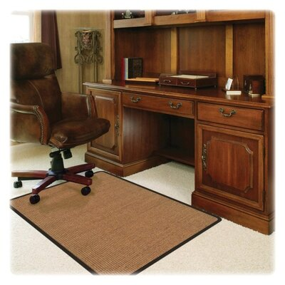 "Deflect-O RollaMat Medium Pile Carpet Straight Edge Chair Mat - Size: 0.3"" H x 45"" W x 53"" D at Sears.com"