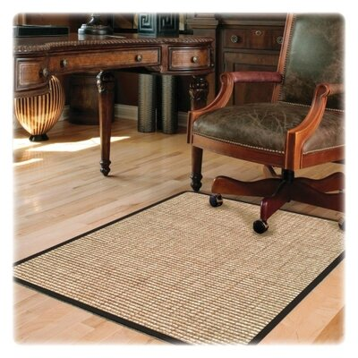 "Deflect-O Hard Floor Straight Edge Chair Mat - Size: 0.1"" H x 45"" W x 53"" D at Sears.com"