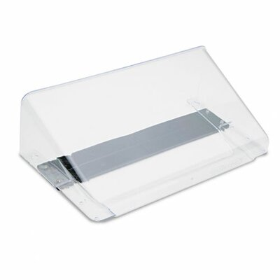 Magnetic Wall File Pocket Color: Clear