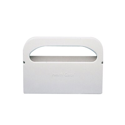 Half-Fold Toilet Seat Cover Dispenser in White