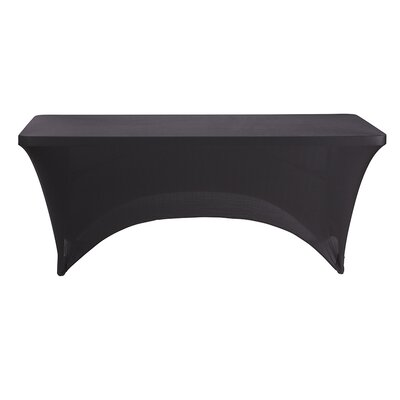 Fabric Table Cover (Set of 6) Size: 29 H x 72 W x 30 D