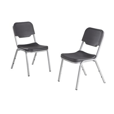 Rough N Ready Series Original Stackable Chair Seat Color: Charcoal