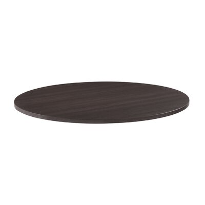 OfficeWorks Round Conference Table Top Color: Espresso, Size: 3 H x 50 x 50 D Product Image 5927