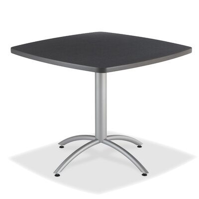 CafeWorks Dining Table Top Finish: Graphite Granite